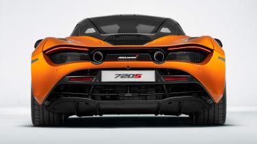 McLaren 720S - full rear