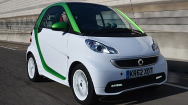 Smart ForTwo Electric Drive front tracking