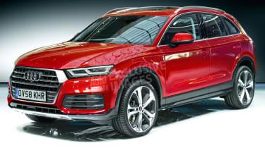 Audi Q5 render