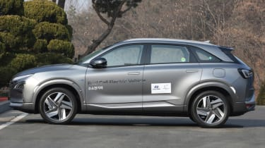 Hyundai NEXO static side profle