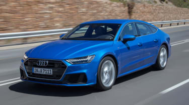 Audi A7 Sportback - front tracking