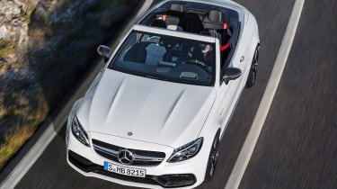 Mercedes-AMG C 63 Cabriolet - above