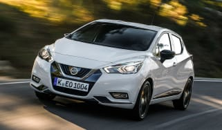Nissan Micra N-Sport - front