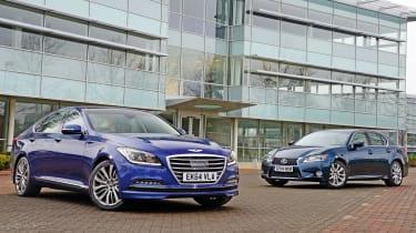 Hyundai Genesis vs Lexus GS