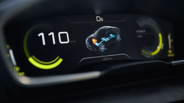 Peugeot 508 Sport Engineered concept - dials detail