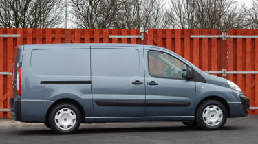Fuel economy figures relay that the Scudo is better suited to travelling with light loads.