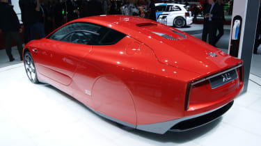 Volkswagen XL1 rear