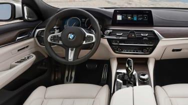 BMW 6 Series Gran Turismo - dash