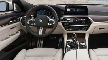 BMW 6 Series Gran Turismo - dash