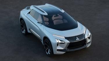 Mitsubishi e-Evolution concept - above