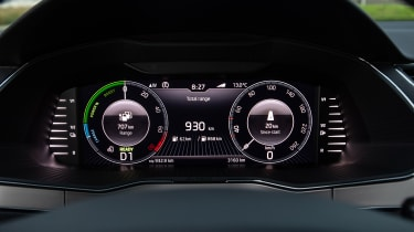 Skoda Superb iV - instrument binnacle