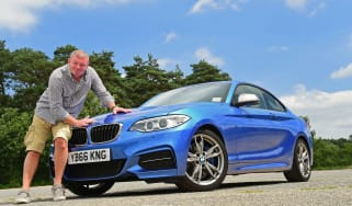 BMW M240i Coupe - second report header