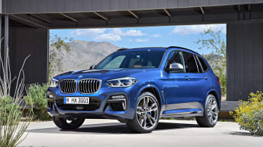 BMW X3 - front/side
