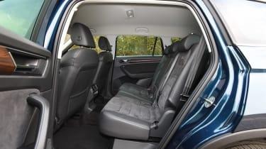 Skoda Kodiaq Scout - rear seats