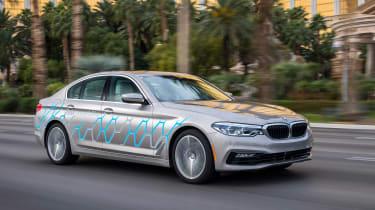 BMW 5 Series Personal CoPilot autonomous prototype - front