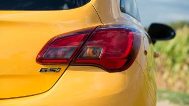 Vauxhall Corsa GSi - GSi badge