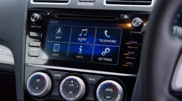 Subaru Levorg - infotainment screen