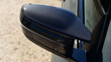 BMW M4 Competition - wing mirror
