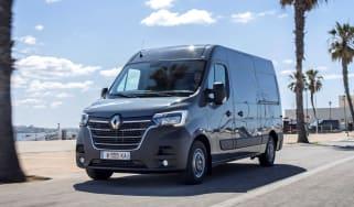 2019 Renault Master driving