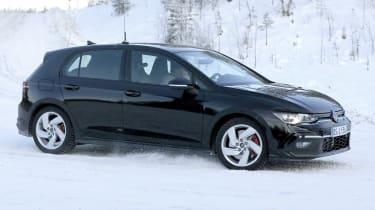Volkswagen Golf GTI 2020 - spies - front 3/4 tracking