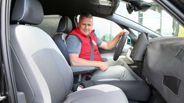 Volkswagen ID.3 - front seats