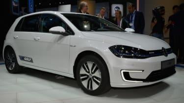 VW e-Golf 2017 - LA Motor Show front