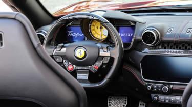 Ferrari Portofino - steering wheel