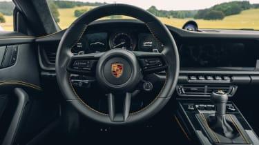 Porsche 911 GT3 Touring Package - dash