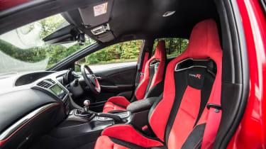 New Honda Civic Type R 2015 seats