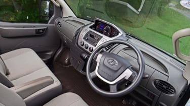 LDV EV80 interior