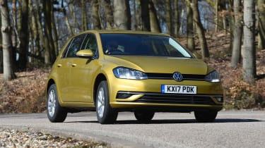 Volkswagen Golf - front cornering