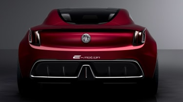 MG E-Motion concept tail