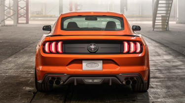 Ford Mustang High Performance Package - full rear