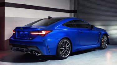 Lexus RC F - rear