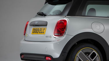 MINI Electric - rear 3/4 static