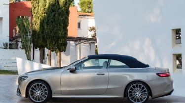 Mercedes E-Class Cabriolet 2017 - AMG Line side roof up