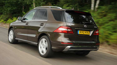 Mercedes ML 250 Bluetec Sport rear