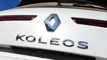 Renault Koleos - Koleos badge