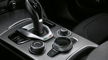 Alfa Romeo Stelvio - centre console