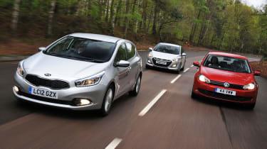 New Kia Cee'd vs rivals