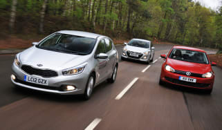 New Kia Cee'd vs rivals