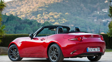 Mazda MX-5 2015 rear static