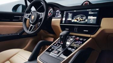 Porsche Cayenne - centre console