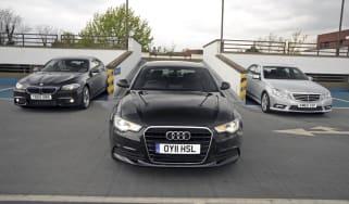 New Audi A6 vs rivals
