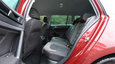 vw golf estate rear seats legroom