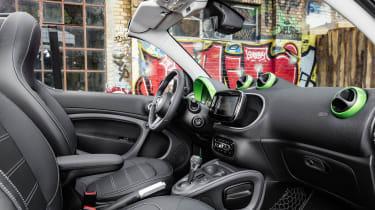 Smart ForTwo Cabrio Electric Drive - cabin