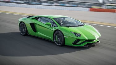 Lamborghini Aventador S - front/above