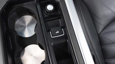 Range Rover Evoque Convertible - roof button