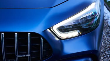 mercedes-amg gt 4-door headlight