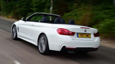 BMW 430i Convertible - rear